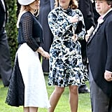 Princess Eugenie at Royal Ascot in 2018