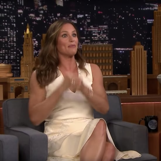 Jennifer Garner on Jimmy Fallon Talking About Kayaking Trip