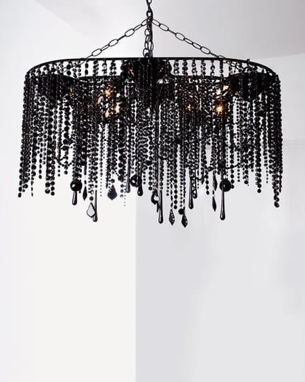 Crave Worthy:  Black Crystal Chandelier