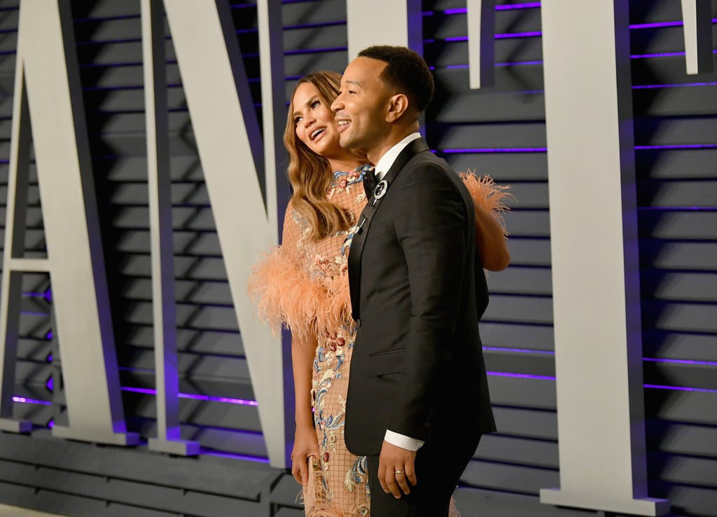 Chrissy Teigen And John Legend At 2019 Oscars Afterparty
