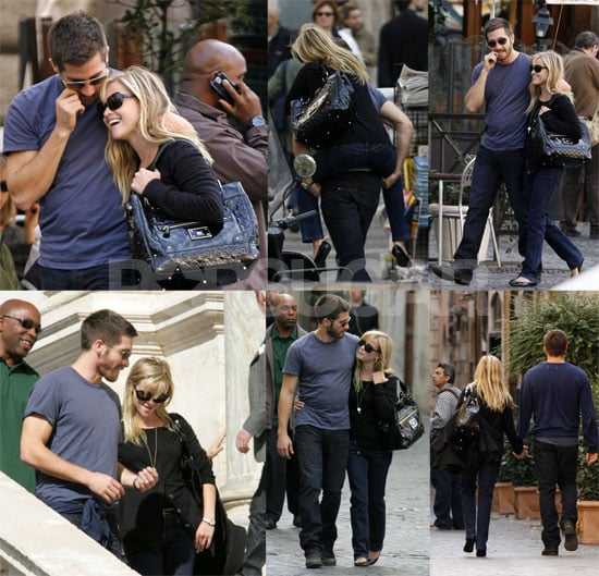 Finally, A Good Look at Reese & Jake's Roman Lovefest!