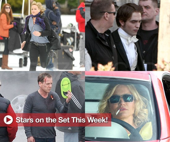 Stars on the Set This Week!