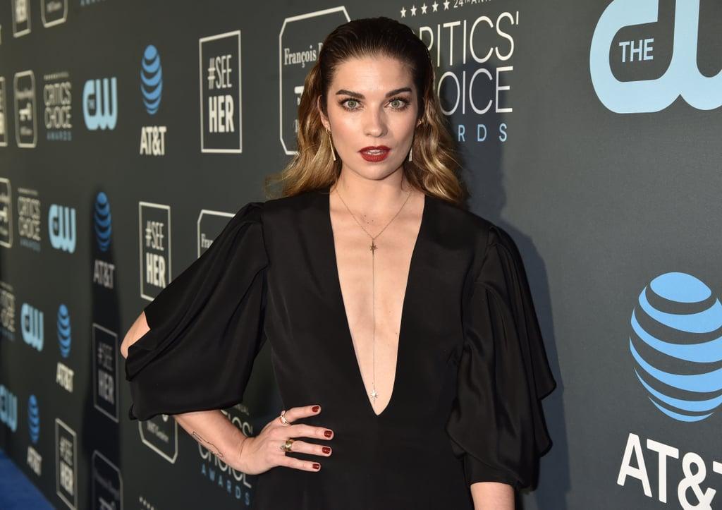 Annie Murphy at the 2019 Critics' Choice Awards | Schitt's