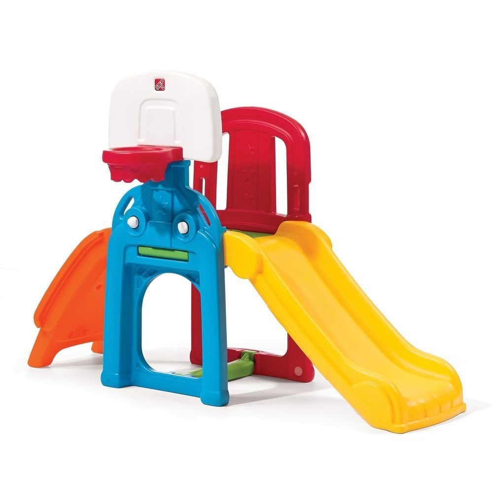 For 3-Year-Olds: Step2 Game Time Sports Climber And Slide