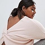 Micha Lounge Curve Wrap Back Sweater