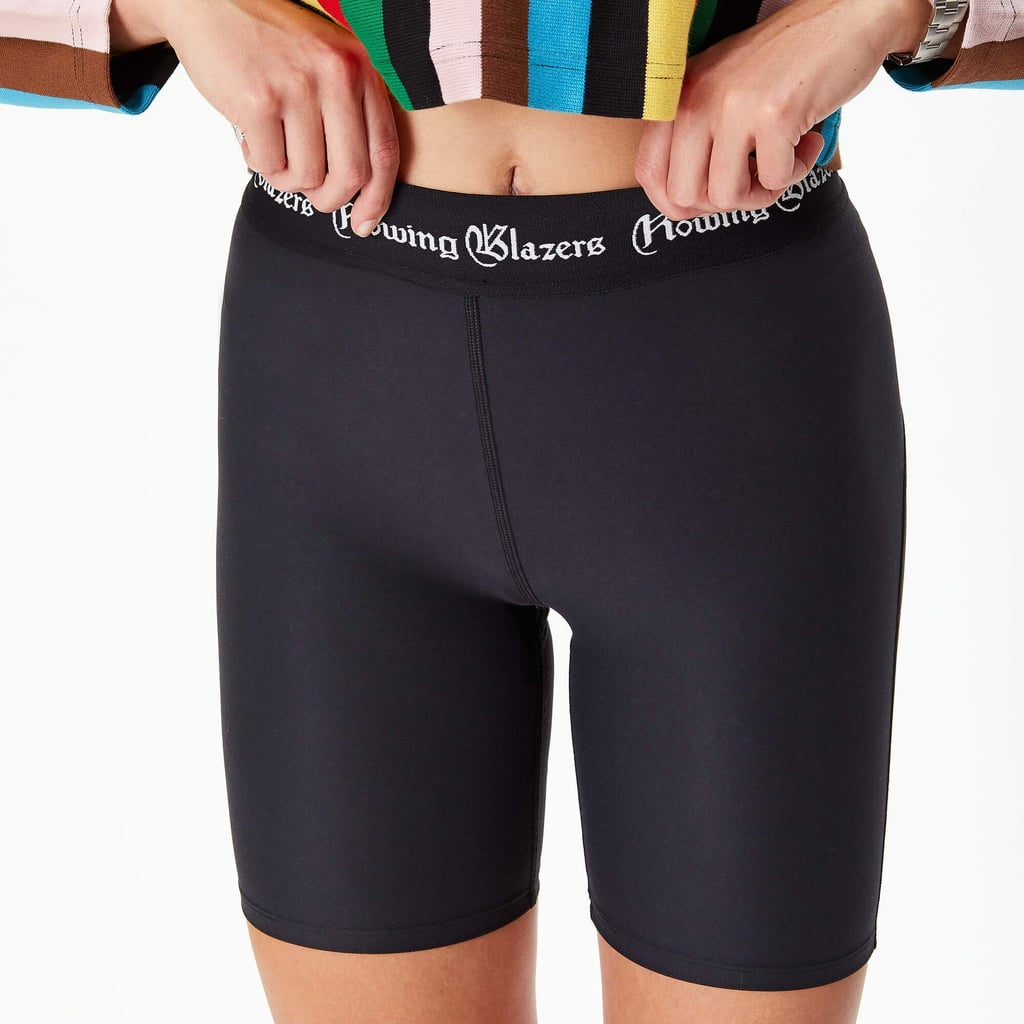 Rowing Blazers Black Bike Shorts