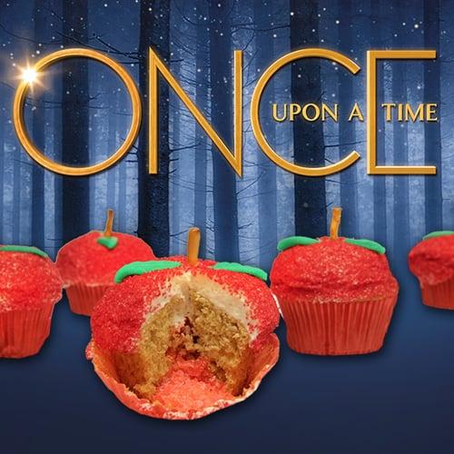 Magical Apple Cupcakes