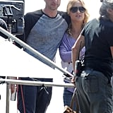 Zach Braff and Kate Hudson began filming Wish I Was Here in LA on Friday.