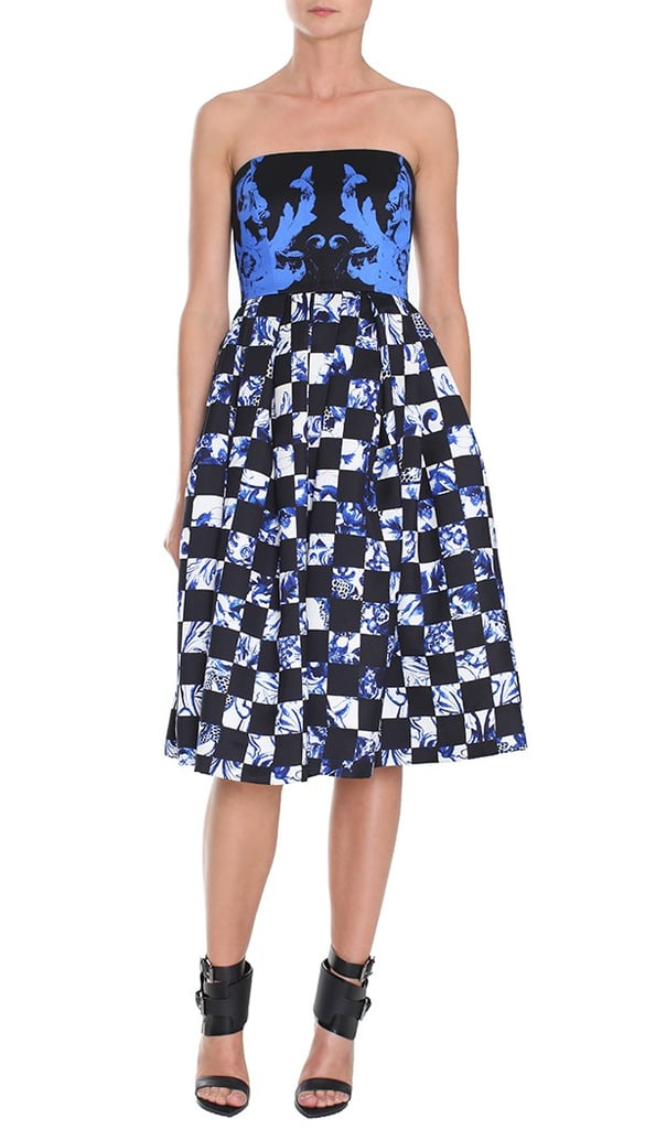 We can't resist the flirty silhouette or the bright pattern — this