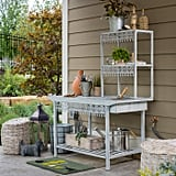 Belham Living Garden Grove Metal Potting Bench