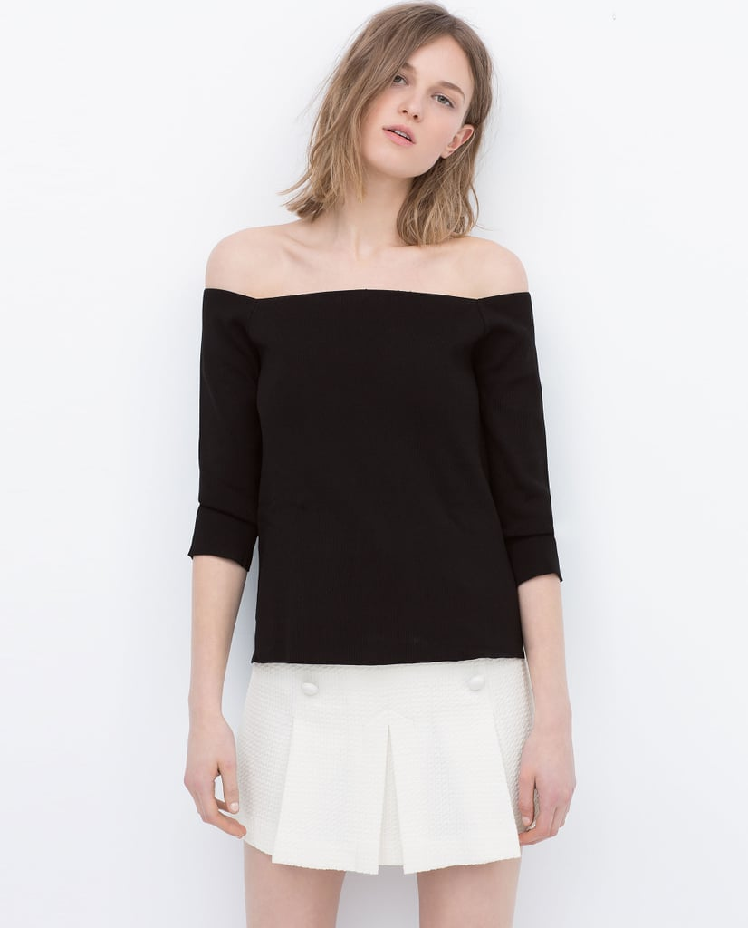 Zara Off-the-Shoulder Sweater
