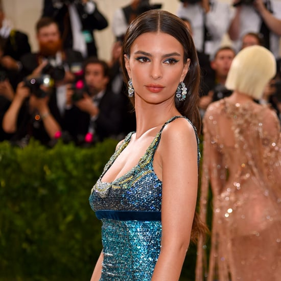 Emily Ratajkowski Makeup Look at the Met Gala 2017