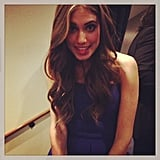 Allison Williams got playful backstage. Source: Instagram user lenadunham