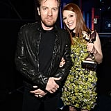 Ewan McGregor and Julianne Moore