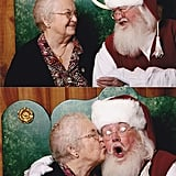 The person who took their 92-year-old grandma to see Santa for the first time ever