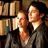 James Franco plays David, Elizabeth's on-again, off-again boyfriend with whom she breaks from before her trip.