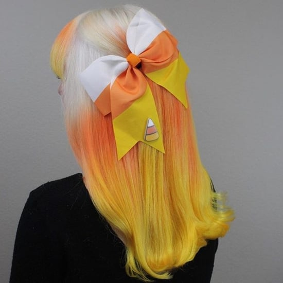 Candy Corn Hair Colour Trend