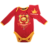 Gryffindor House Baby Grow and Bib