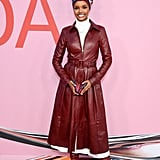 Halima Aden at the 2019 CFDA Awards