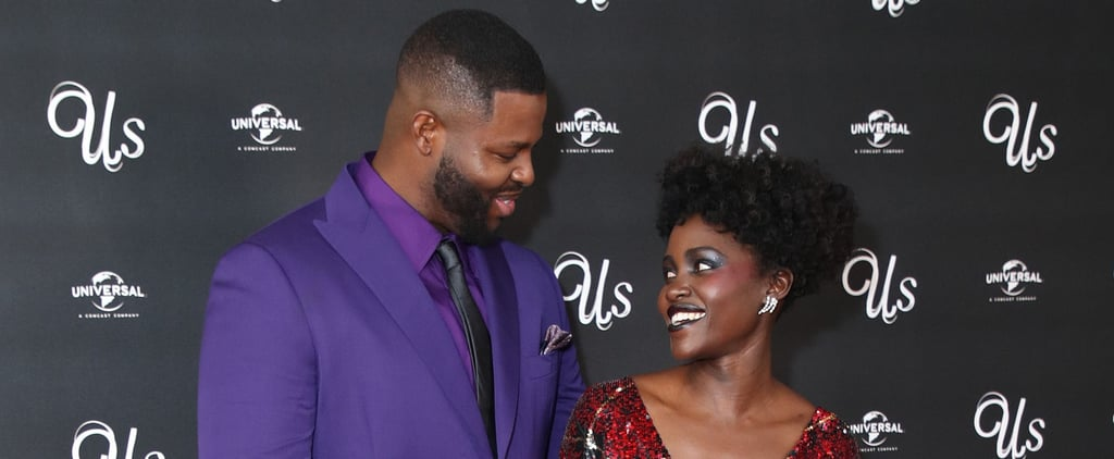 Lupita Nyong'o, Winston Duke at Us Screening in London 2019