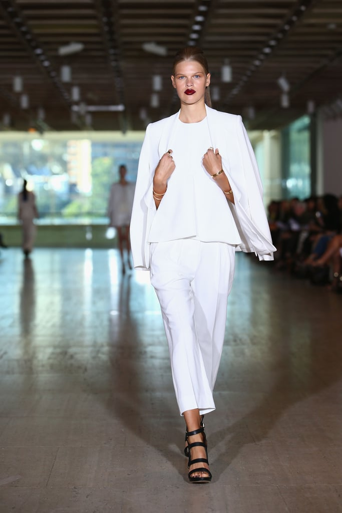 Runway Review & Pictures of Lisa Ho SS 2014 MBFWA Show
