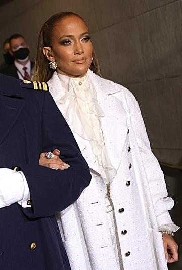 Jennifer Lopez's Inauguration Makeup by Daniel Velasquez