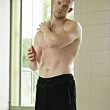 Newbie Harry (Russell Tovey) stretches it out.