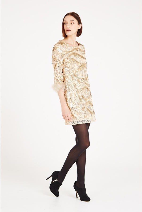 Louche Luxe Yorba Sequin Dress