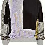 Even with a pair of slim-cut jeans, we're pretty sure this 3.1 Phillip Lim Sequined Silk Sweatshirt ($995) will punch up the most casual of outfits, sparkly colorblocking and all.