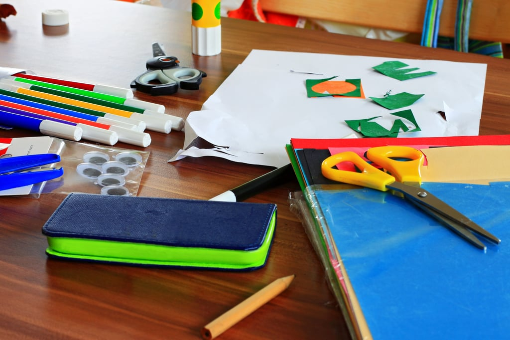 Make a Craft Project Out of School Supplies