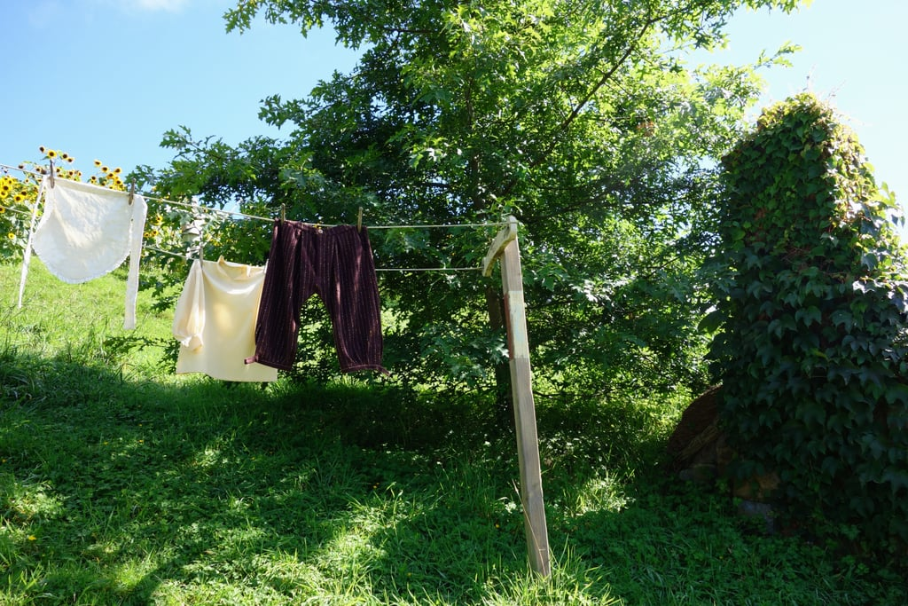 You'll notice details like hobbit clothes drying in the sun.