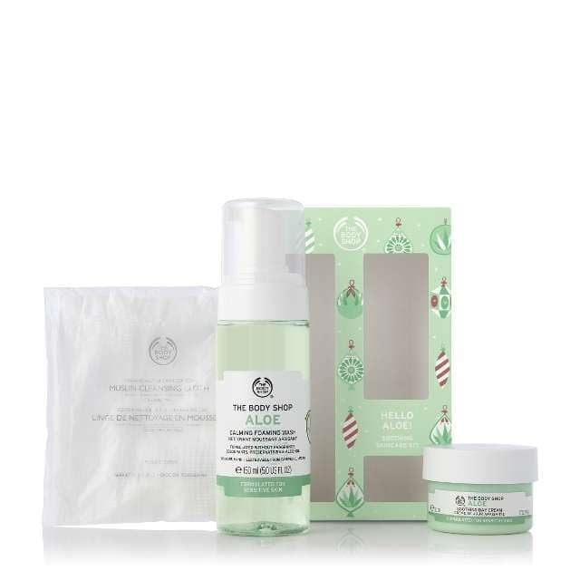 The Body Shop Hello Aloe! Soothing Skincare Kit