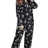 Tony and Candice Long Sleeve Flannel Pajama Set