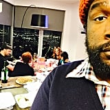 Questlove snapped a photo of his family.