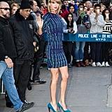Taylor's Blue Pumps