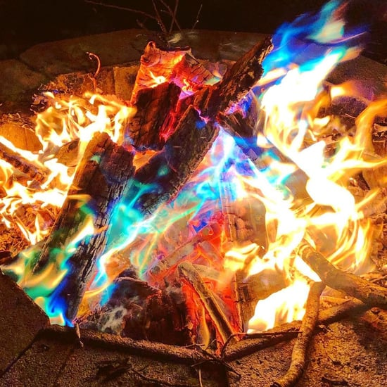 Buy These Magical Flames Packets to Make a Colorful Fire