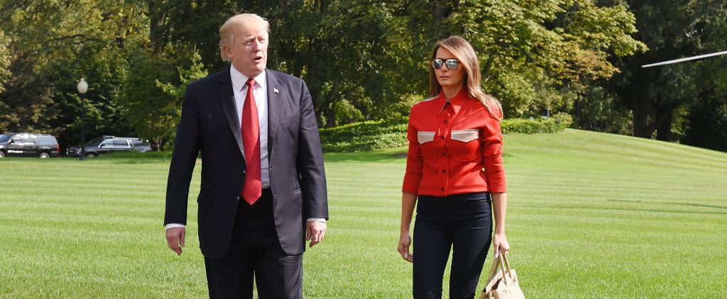 Melania Trump Returns to the White House Wearing the World's Most Versatile Pair of Flats