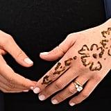 Meghan Markle Gets Henna Tattoo in Morocco Feb. 2019