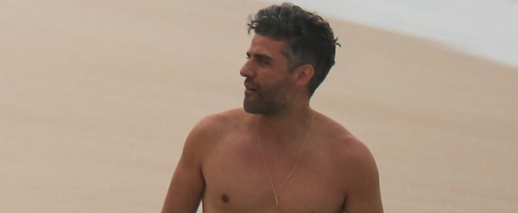 Oscar Issac Shows Off His Bronzed, Shirtless Body in Hawaii, and I Just Need a Second