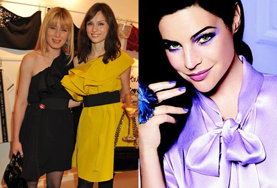 Celebrities Wear Lanvin for H&M and Julia Restoin Roitfeld for Lancome