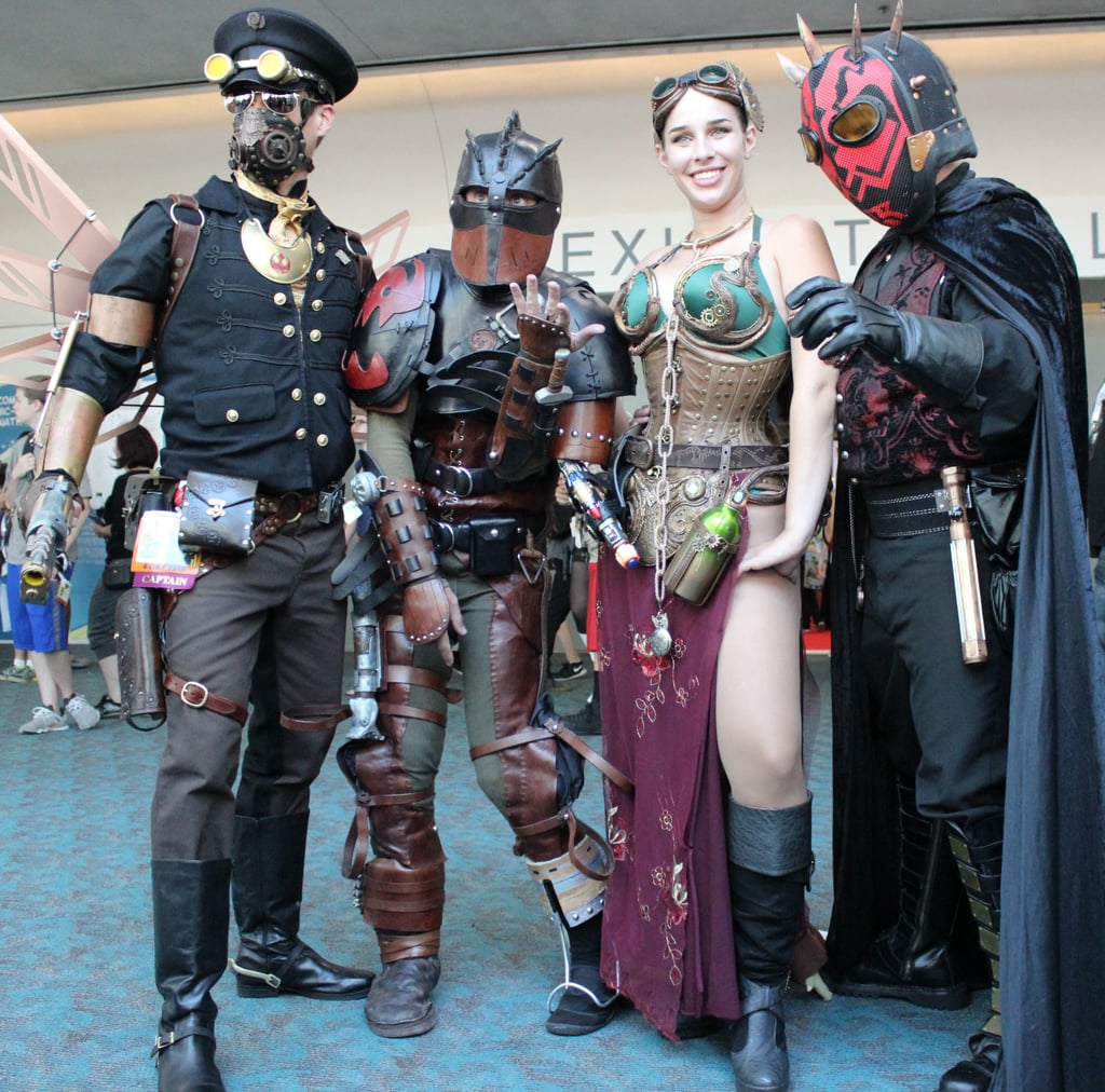 Best cosplay costumes at comic con popsugar australia tech for Epic motors san diego