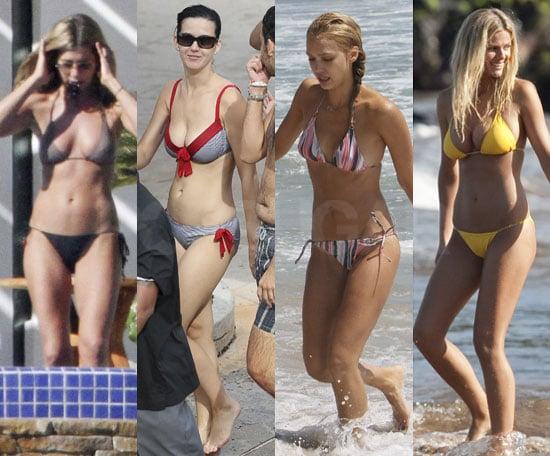 Bikini Pictures of Brooklyn Decker, Jennifer Aniston, Katy Perry, Jessica Alba