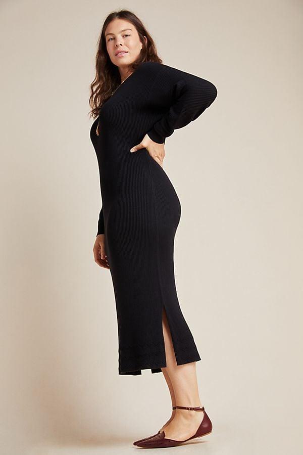 Anthropologie Shea Sweater Midi Dress