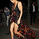Kendall Jenner Wearing Versace at Cannes