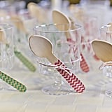 Yogurt Parfait Cups With Chevron Spoons