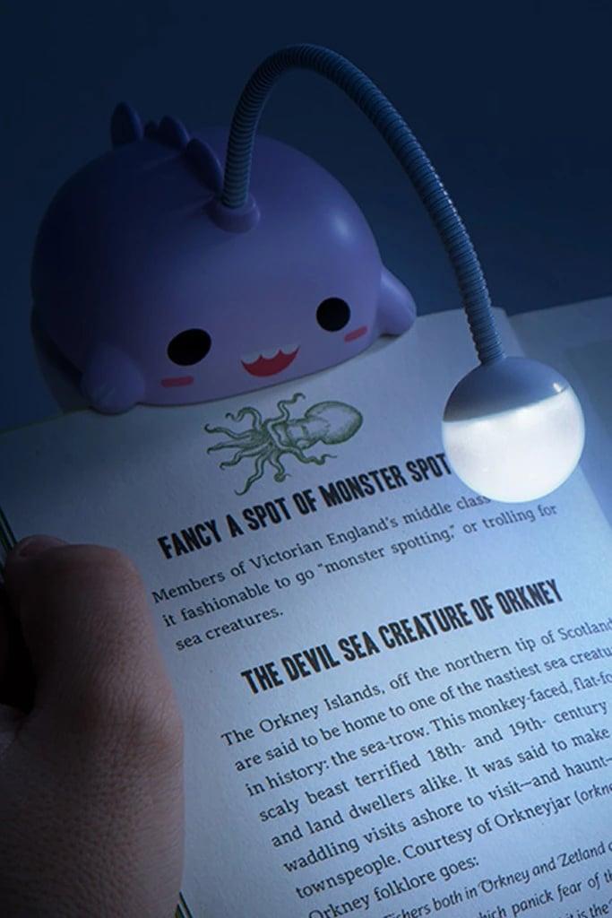 For the Avid Reader: Smoko Anglerfish Booklight