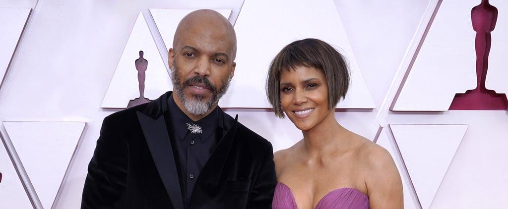 Halle Berry and Boyfriend Van Hunt Make Debut at 2021 Oscars