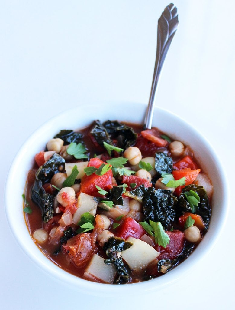 Side Dish: Chickpea and Kale Stew