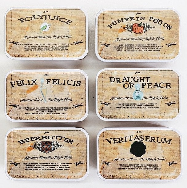 Harry Potter Tea Sampler ($24)