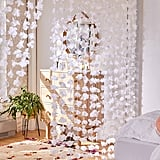 Metallic Petal Vine Garland Backdrop